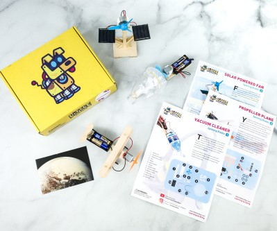 Little Workbox Subscription Box Review + Coupon – SPINNING BLADES