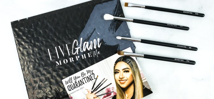 LiveGlam Brush Club September 2020 Subscription Box Review + Free Brush Coupon!