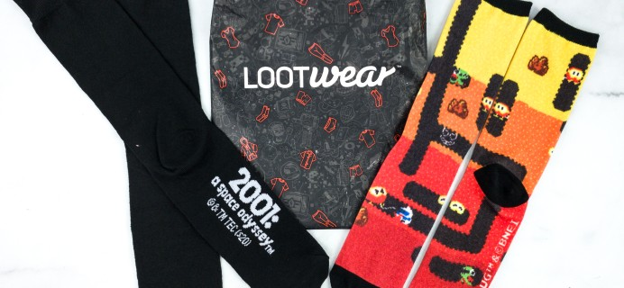 Loot Socks by Loot Crate January 2020 Subscription Box Review & Coupon