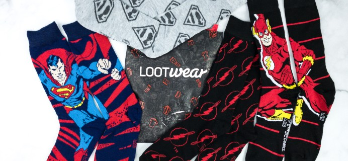 Loot Socks by Loot Crate May 2020 Subscription Box Review & Coupon