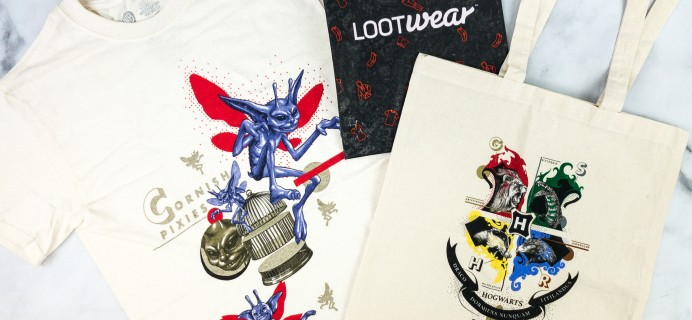 Loot Wear Wizarding World Wear June 2020 Subscription Box Review