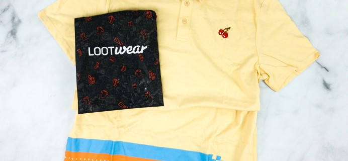 Loot Wearables Subscription by Loot Crate January 2020 Review & Coupon