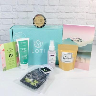 Loti Wellness September 2020 Subscription Box Review