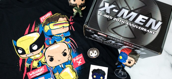 Marvel Collector Corps July 2020 Subscription Box Review – X-MEN 20TH ANNIVERSARY!
