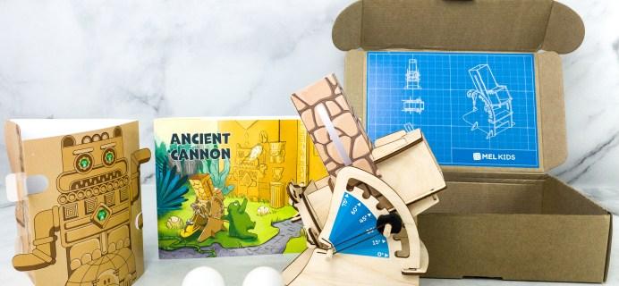 MEL Science Kids Subscription Box Review + Coupon – ANCIENT CANNON
