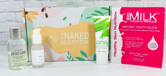The Naked Beauty Box August 2020 Subscription Box Review + Coupon