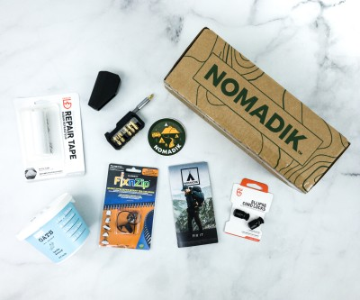 Nomadik September 2020 Subscription Box Review + Coupon
