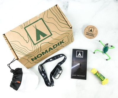 Nomadik October 2020 Subscription Box Review + Coupon