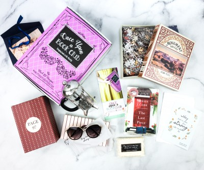 Once Upon a Book Club August 2020 Subscription Box Review + Coupon – Adult Box