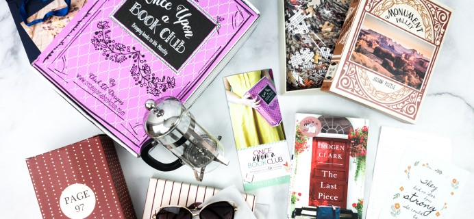 Once Upon a Book Club July 2020 Subscription Box Review + Coupon – Adult Box