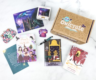 OwlCrate Jr. August 2020 Box Review & Coupon – ENCHANTED OBJECTS