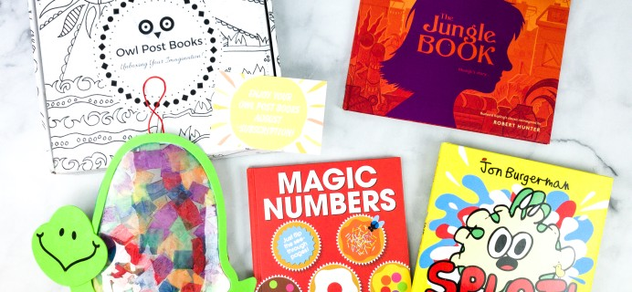 Owl Post Books Imagination Box August 2020 Subscription Box Review + Coupon