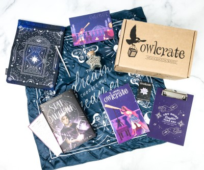OwlCrate August 2020 Subscription Box Review + Coupon – WRITTEN IN THE STARS