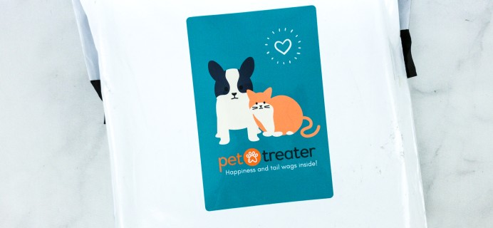 Pet Treater Cat Pack August 2020 Cat Subscription Review + Coupon!