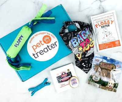 Pet Treater Deluxe Dog Pack August 2020 Subscription Box Review + Coupon