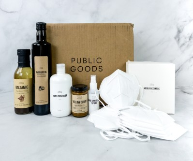 Public Goods Subscription Box Review + Coupon – August 2020