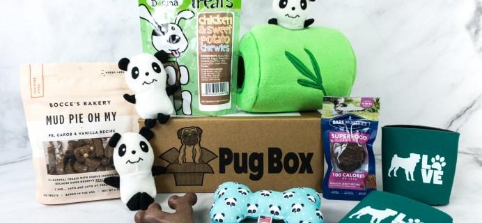 Pug Box July 2020 Subscription Box Review + Coupon