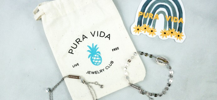 Pura Vida Jewelry Club August 2020 Subscription Box Review + Coupon!