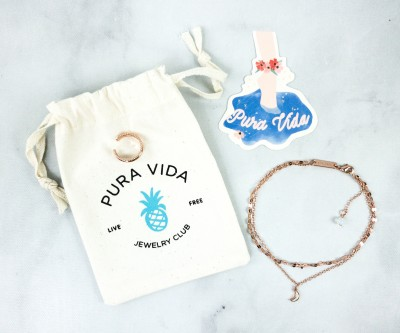 Pura Vida Jewelry Club July 2020 Subscription Box Review + Coupon!