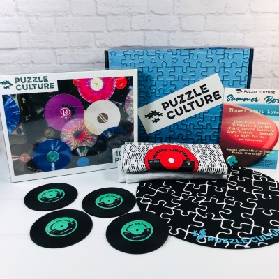 Puzzle Culture Summer 2020 Subscription Box Review + Coupon