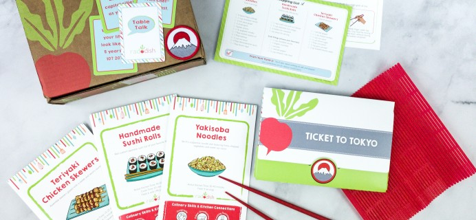 Raddish Kids Cooking Subscription Box Review + Coupons – July 2020