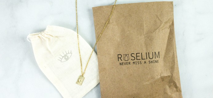 Roselium August 2020 Subscription Box Review + Coupon