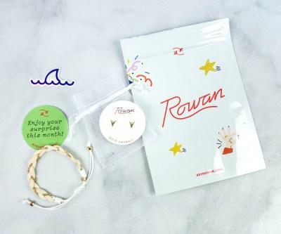 Rowan Earring Club August 2020 Subscription Box Review