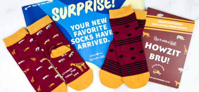 Say It With A Sock Kids August 2020 Sockscription Review + Coupon