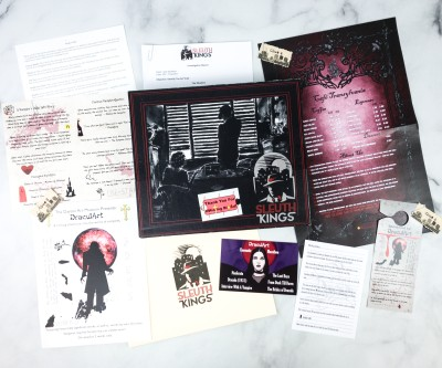 Sleuth Kings Subscription Box Review + Coupons – Case 202 DRACULART