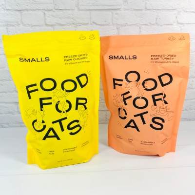 Smalls Dry Cat Food Subscription Box Review + Coupon!