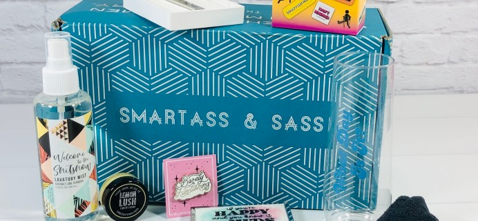 Smartass & Sass Box Cyber Monday Deal: 30% Off Subscriptions Coupon! LAST DAY!