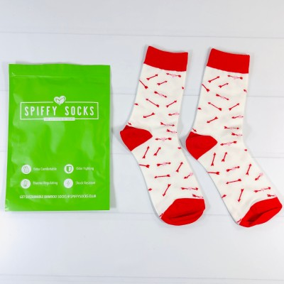 Spiffy Socks September 2020 Subscription Box Review  + Coupon