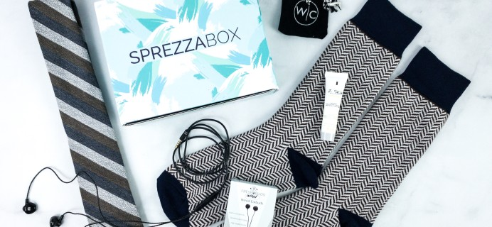 SprezzaBox August 2020 Subscription Box Review + Coupon – CASTAWAY