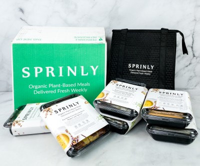 Sprinly Plant-Based Meal Box Review + Coupon!