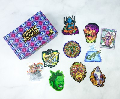 Sticker Savages August 2020 Subscription Box Review + Coupon