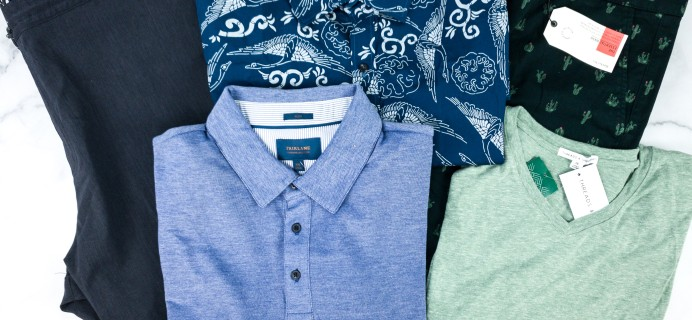 Stitch Fix Men August 2020 Review