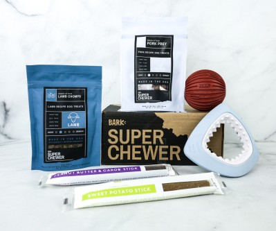 Super Chewer August 2020 Subscription Box Review + Coupon!