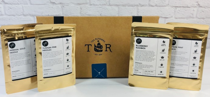Tea Runners August 2020 Subscription Box Review + Coupon!