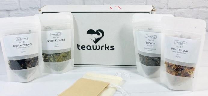 teawrks August 2020 Subscription Box Review