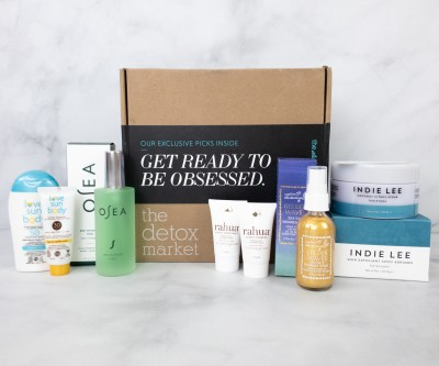 The Detox Box August 2020 Subscription Box Review