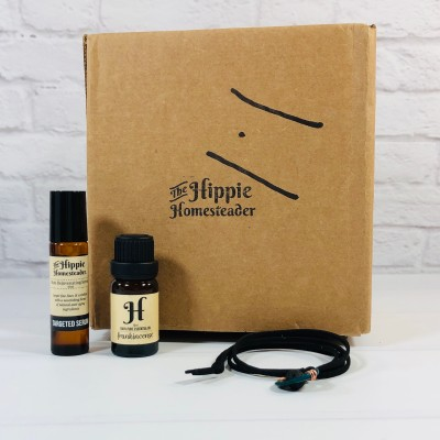 The Hippie Box by The Hippie Homesteader August 2020 Subscription Box Review