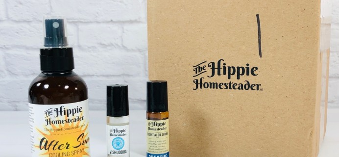 The Hippie Box by The Hippie Homesteader July 2020 Subscription Box Review