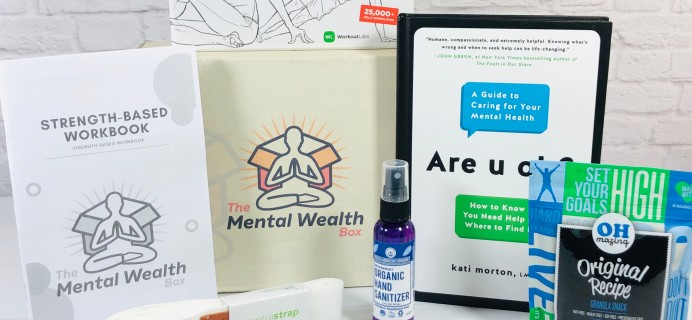 The Mental Wealth Box August 2020 Subscription Box Review