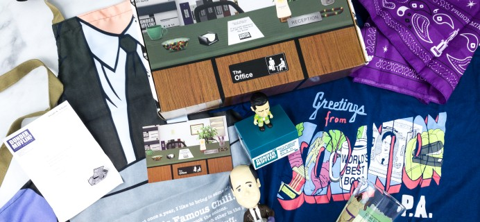 The Office Subscription Box Summer 2020 Subscription Box Review