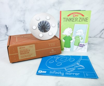 KiwiCo Tinker Crate Review & Coupon – INFINITY MIRROR