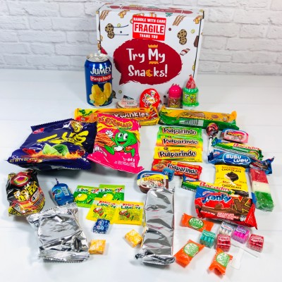 Try My Snacks August 2020 Subscription Box Review – Mexico