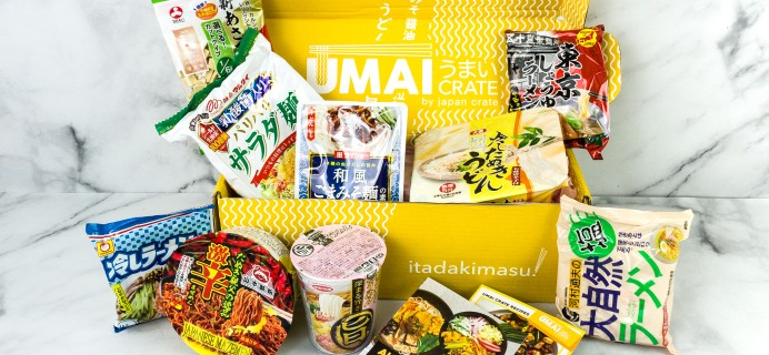 Umai Crate August 2020 Subscription Box Review + Coupon