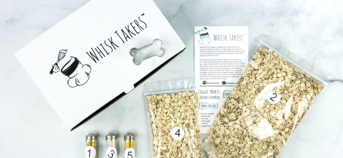 Barkery by WhiskTakers Subscription Box Review + Coupon!