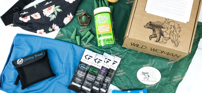 Wild Woman Box August 2020 Subscription Box Review + Coupon