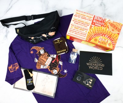 JK Rowling's Wizarding World Crate March 2020 Review + Coupon – MAGICAL MISCHIEF